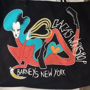 Gaga's workshop Barney's New York tote bag